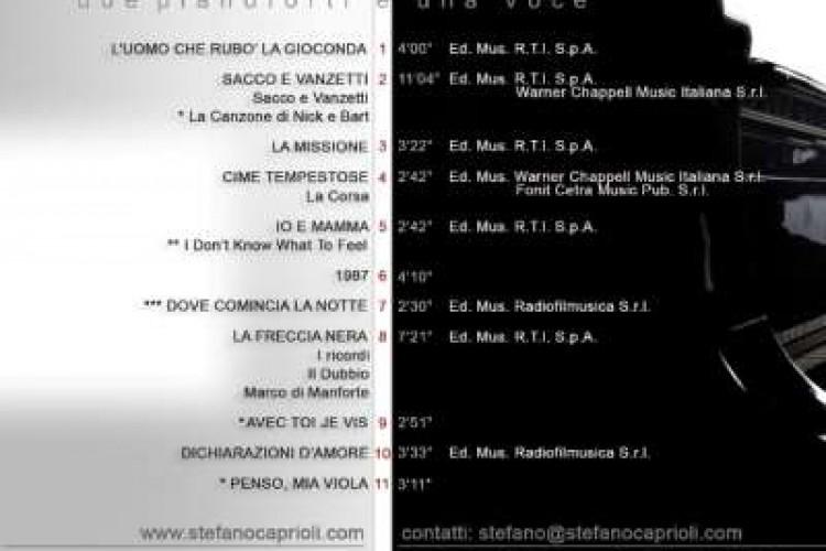 STEFANO CAPRIOLI - Dichiarazioni d'Amore - 2008