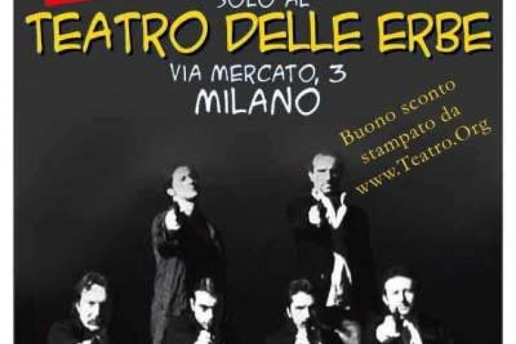 """Di scena """"Le Iene"""" a Milano. STAMPA LO SCONTO!"""
