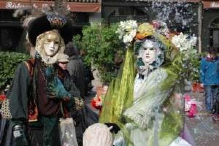 Bergamo In Maschera Carnevale 2008 Teatroit