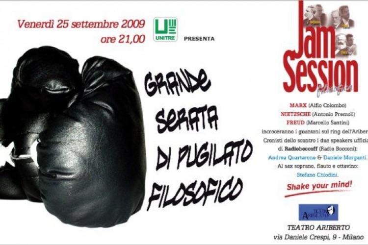 Grande serata di pugilato filosofico all'UniTre di Milano