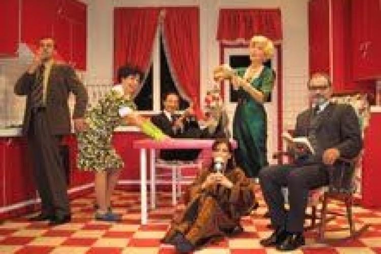 La spassosa commedia Natale in Cucina di Ayckbourn a Gubbio domenica ...