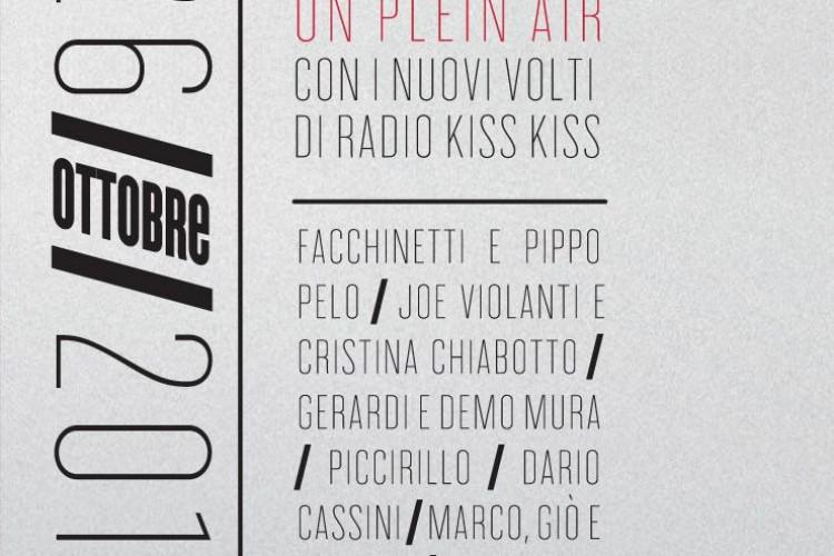 Tutti invitati a KISS KISS ON PLEIN AIR