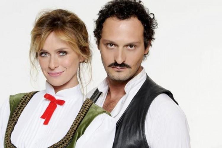 Serena Autieri e Fabio Troiano nella nuovissima edizione di  'Rinaldo in campo'