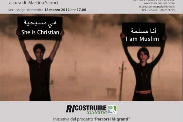 'Eh... se fosse con noi...': mostra personale di Alì Assaf a L'Aquila