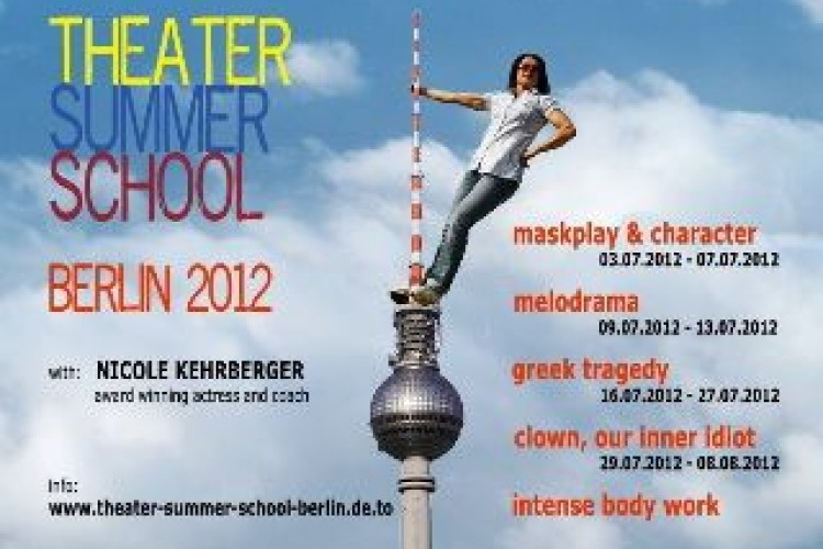 Seconda edizione berlinese dell'International Theater Summer School
