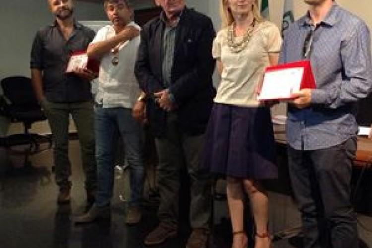 I vincitori del 1° Concorso Teatro Made in Marche, intitolato a Tommaso Paolucci