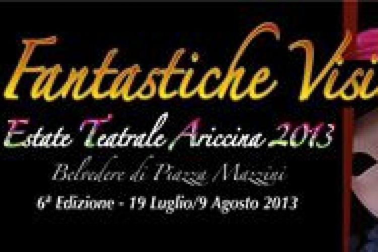 Fantastiche Visioni, la rassegna del Belvedere di Ariccia alla sesta edizione