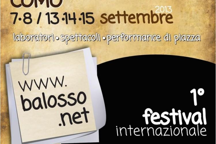 Balosso festival internazionale del teatro muto e del grammelot. A Como.
