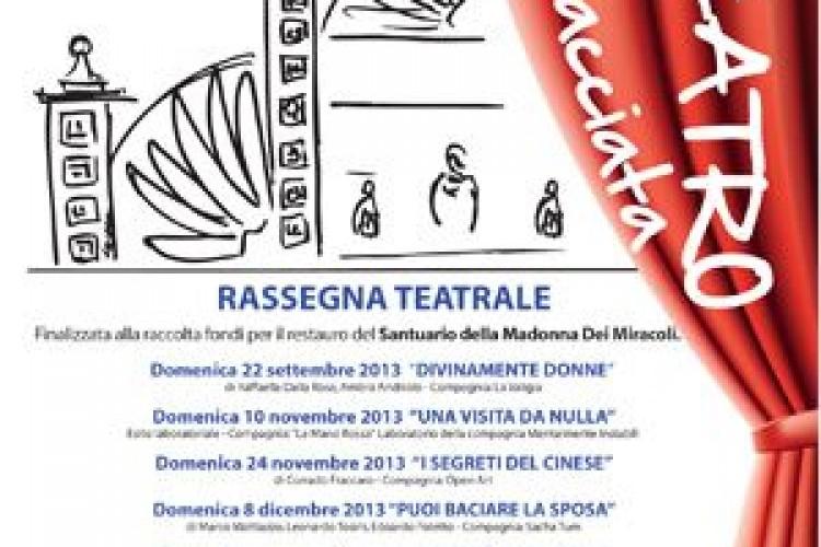 """A Lonigo (VI) il teatro è """"di facciata""""!"""