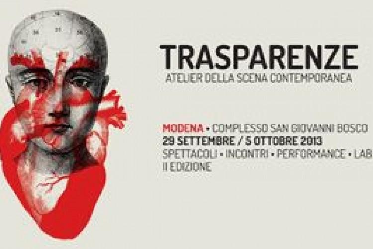 Trasparenze - Atelier della scena contemporanea, a Modena la seconda edizione