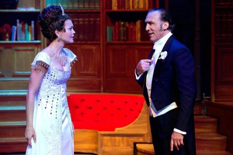 Vittoria Belvedere e Luca Ward portano in scena My Fair lady