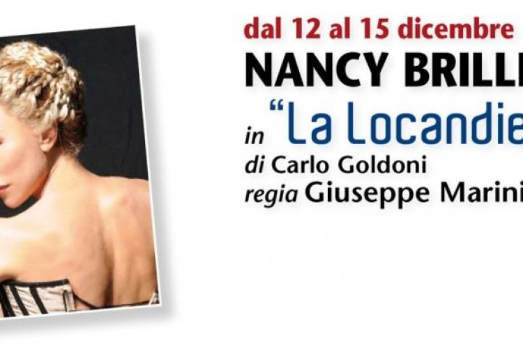 """La locandiera"" di Nancy Brilli"