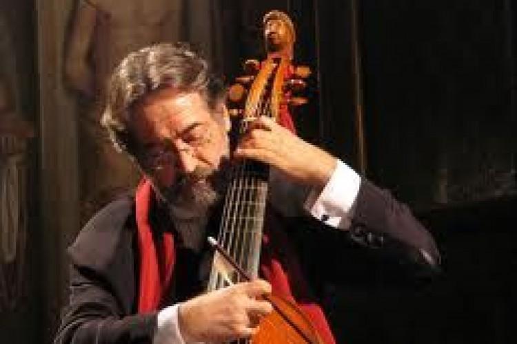 Jordi Savall si esibisce alla Sapienza