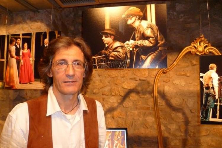 Luigi Baglione, foto 'senza posa' per la scorsa stagione del TSA