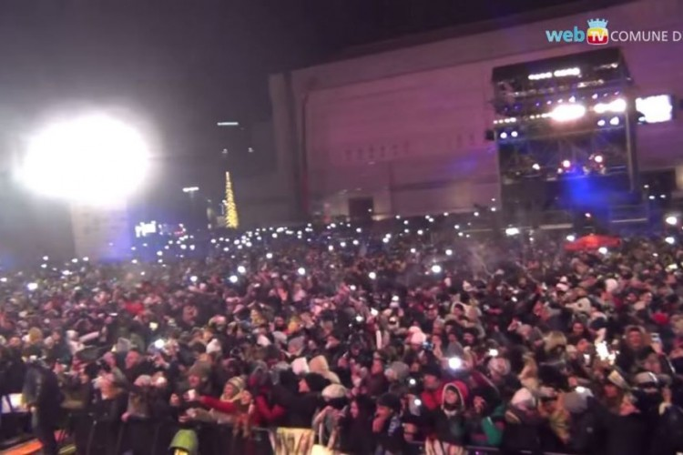 Capodanno 2015: a Napoli il clou, con il concerto in Piazza del Plebiscito