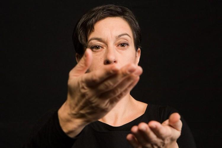 Giuliana Musso al Teatro Aurora di Marghera