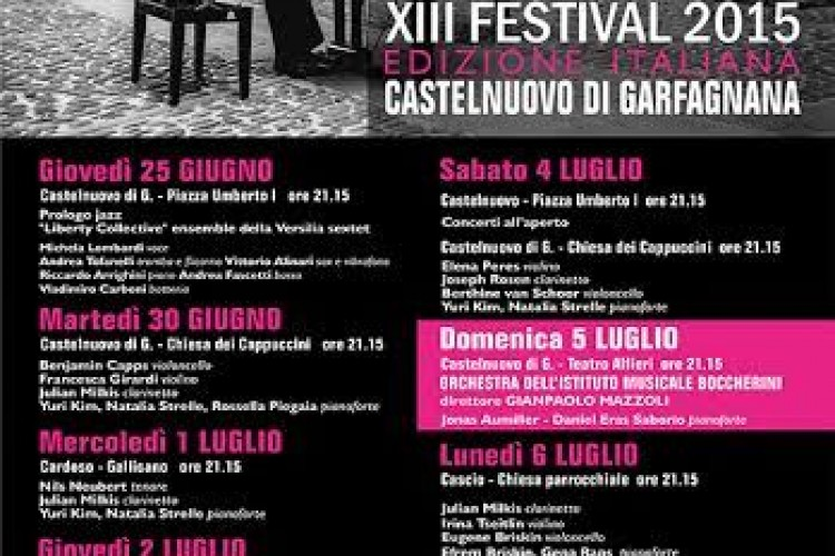 Al via la 13ma edizione dell'International Academy of Music Festival