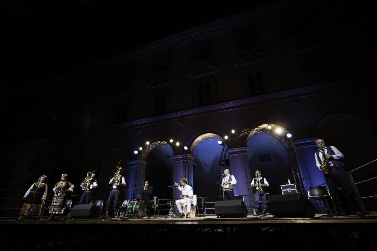 If you don't go crazy, you're not normal!: Goran Bregovic a Città di Castello