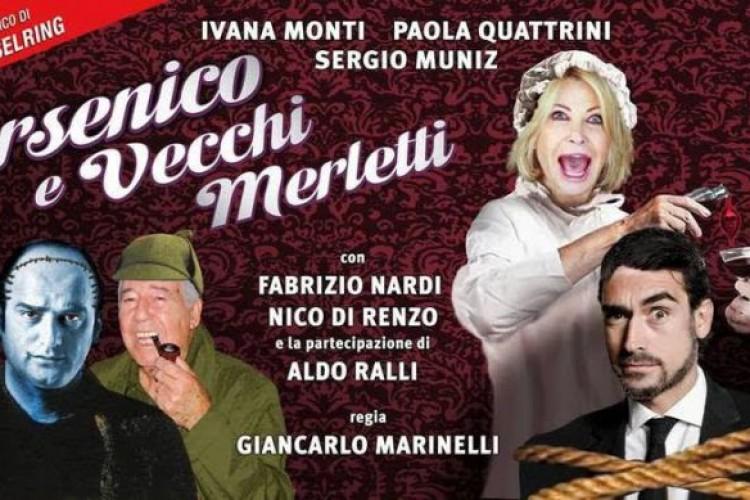 In teatro a Pietrasanta 'Arsenico e vecchi merletti'