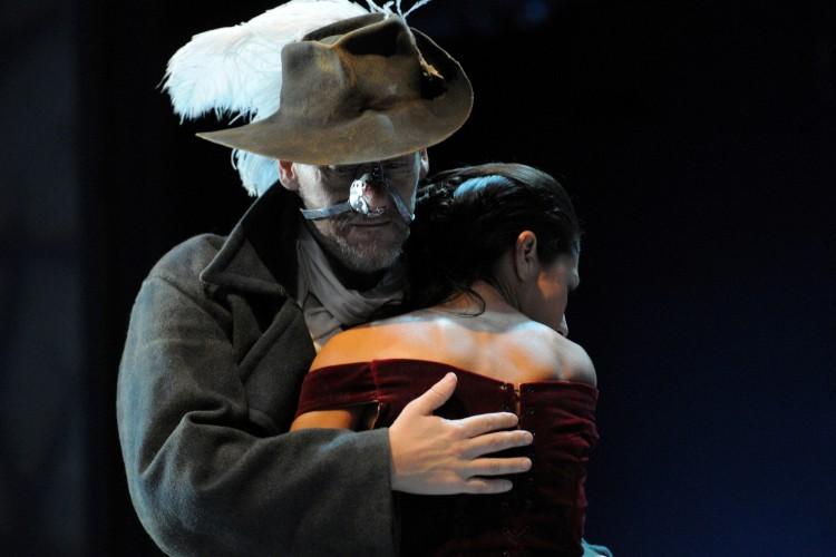 Jurij Ferrini diventa 'Cyrano de Bergerac'