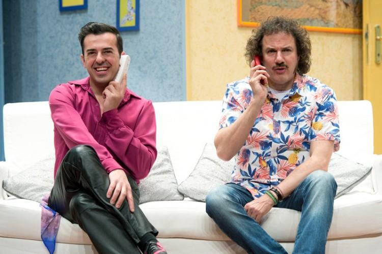 Guidi e Ingrassia in 'Taxi a due piazze' di Ray Cooney