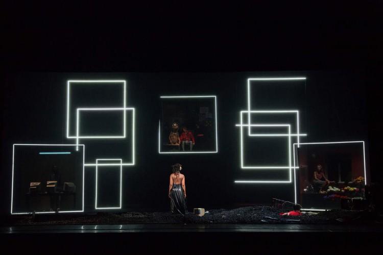 Black Clouds di Fabrice Murgia, produzione del Napoli Teatro Festival