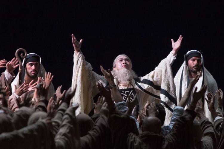 Nella reggia di Caserta la 'grandeur' di Nabucco