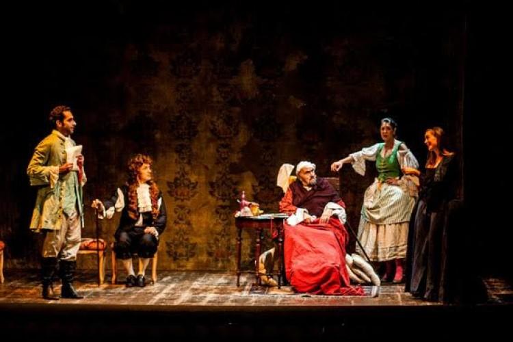 Il ''Malato immaginario'' di Molière... e Andrea Buscemi fa gli scongiuri