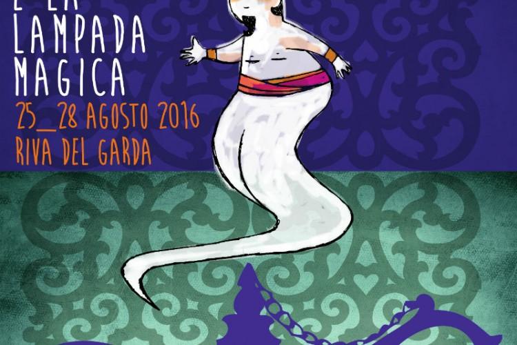Notte di Fiaba 2016, Aladino sulla Riva del Garda