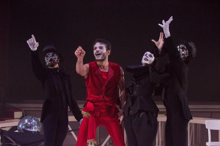 Teatro Vascello: inno all'arte circense con il Funambolo di Genet