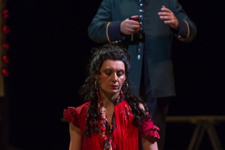 Carmen all'Opera Nazionale di Lubiana.