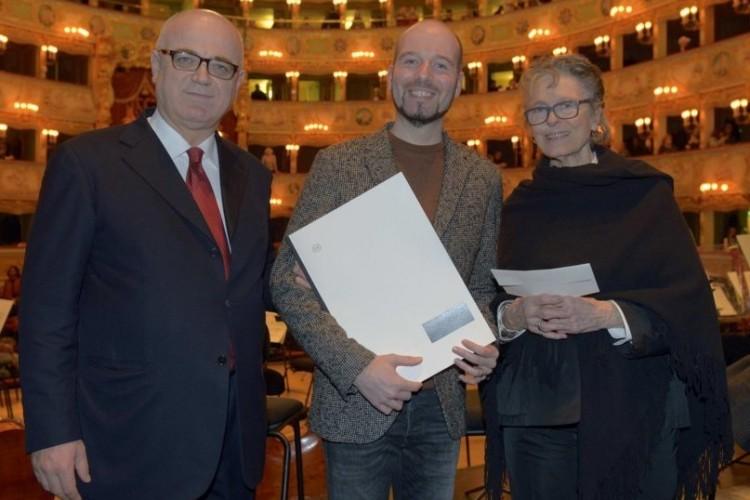 Premiato al Teatro La Fenice il compositore Hannes Kerschbaumer