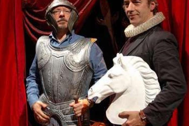David Riondino, cavaliere senza macchia